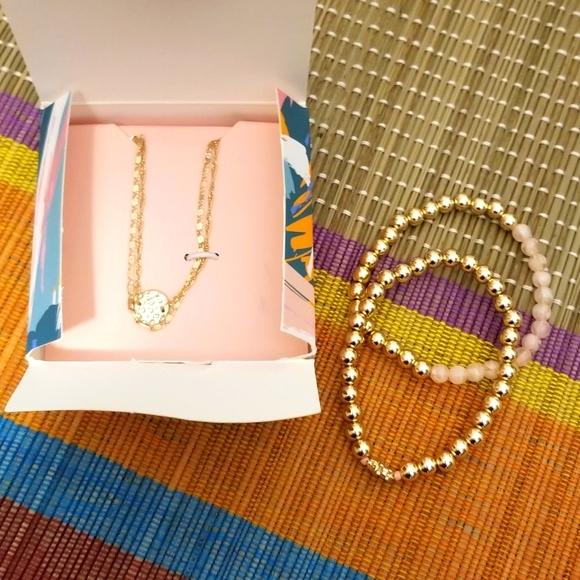 Avery 4 Piece Layering Bracelet Set